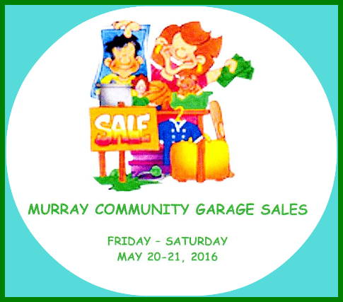MURRAY GARAGE SALES