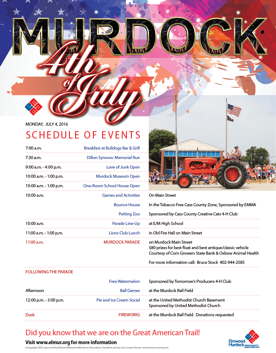 2016 EMMA 4th of July Newsletter for Web2