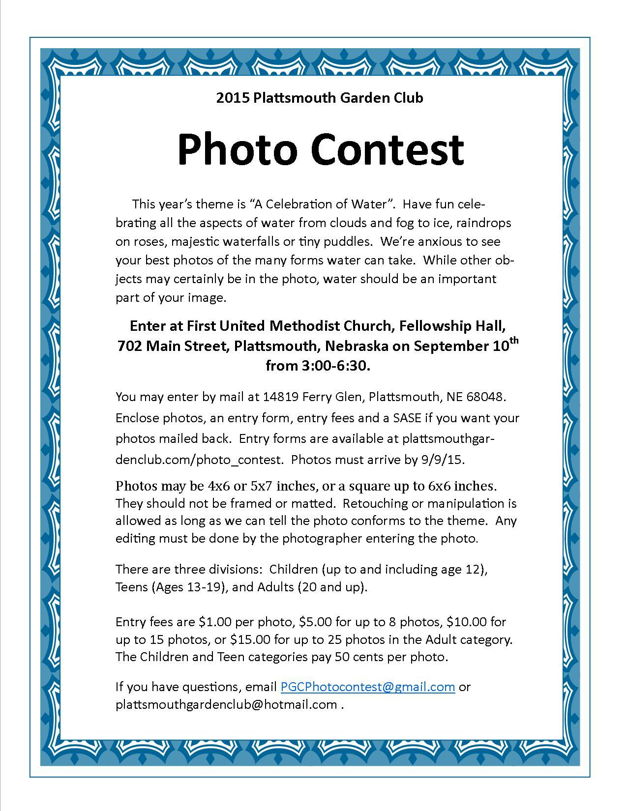 PGC 2015 photocontest