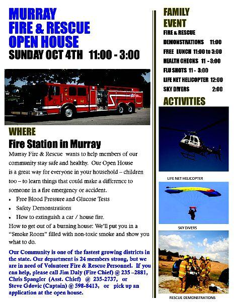 2015 09 30 MRY FD open house 2015