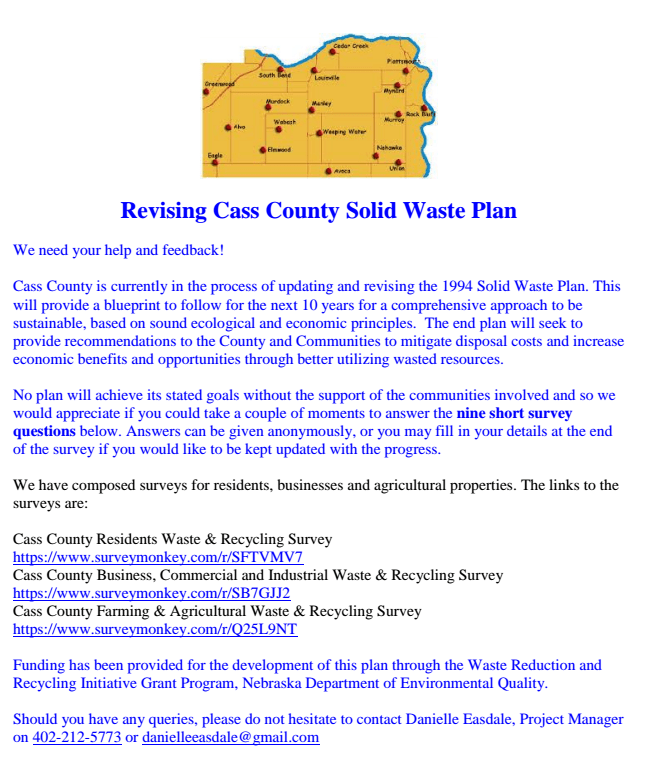 solid waste plan