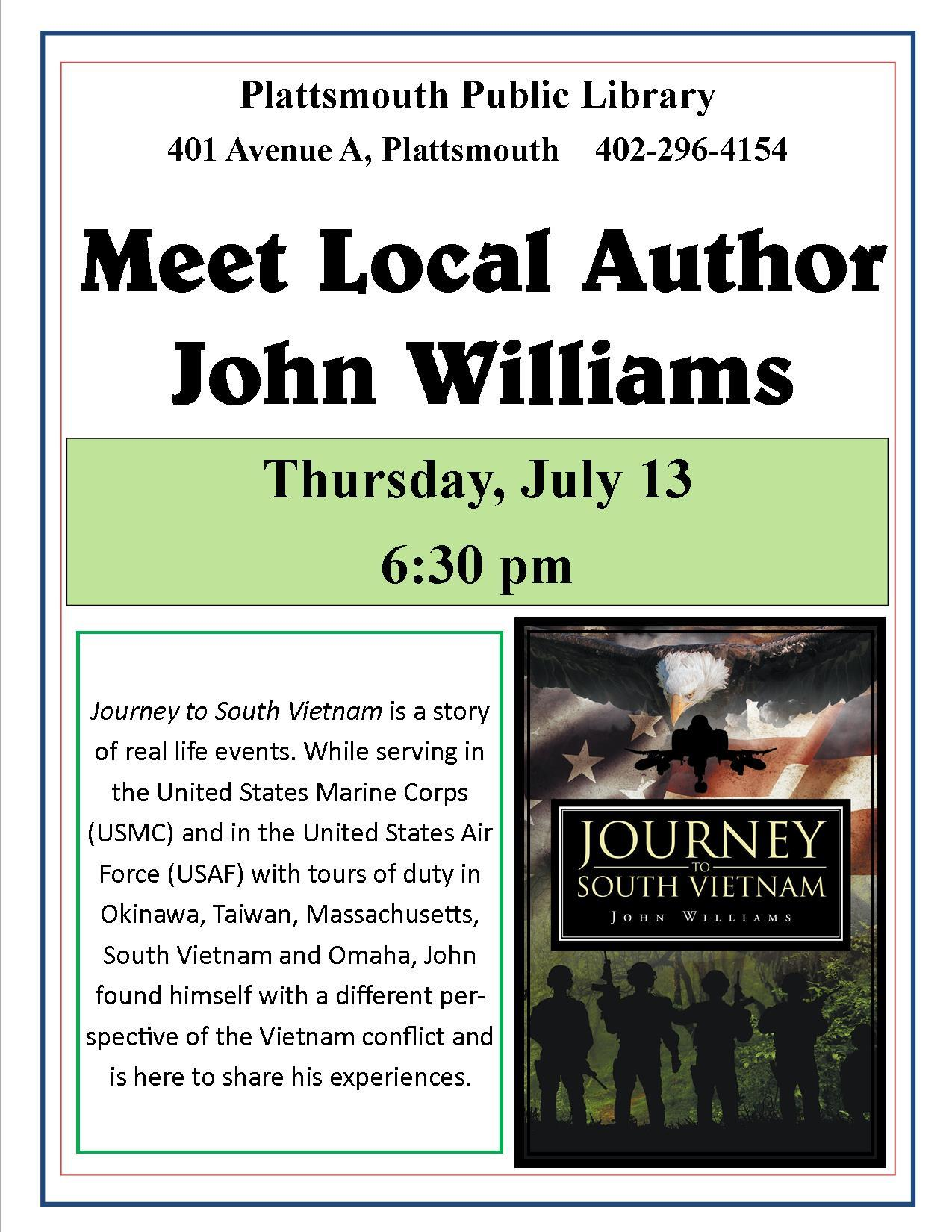 John Williams local author