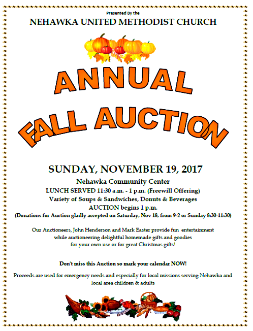 NEH UMC AUCTION