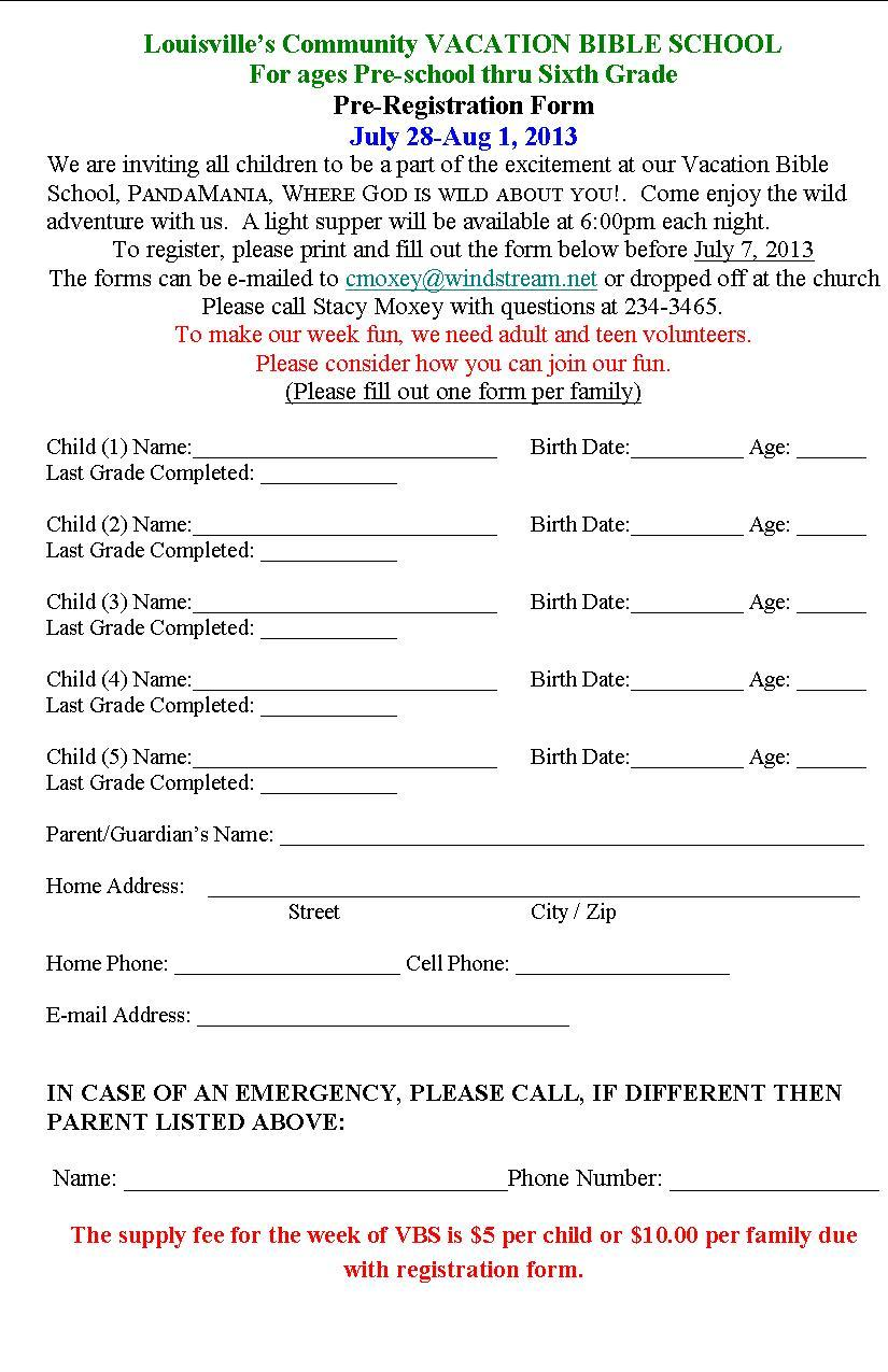 6-19VBS application
