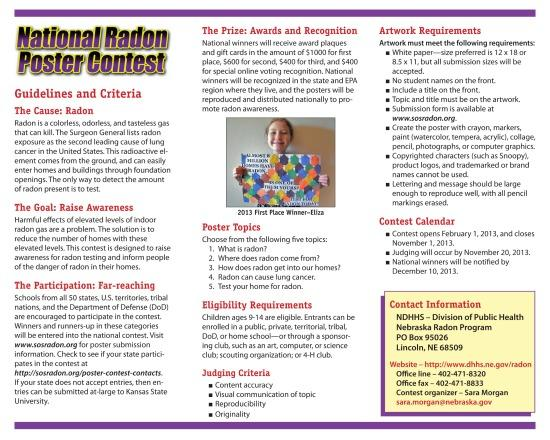 Radon Brochure - Inside
