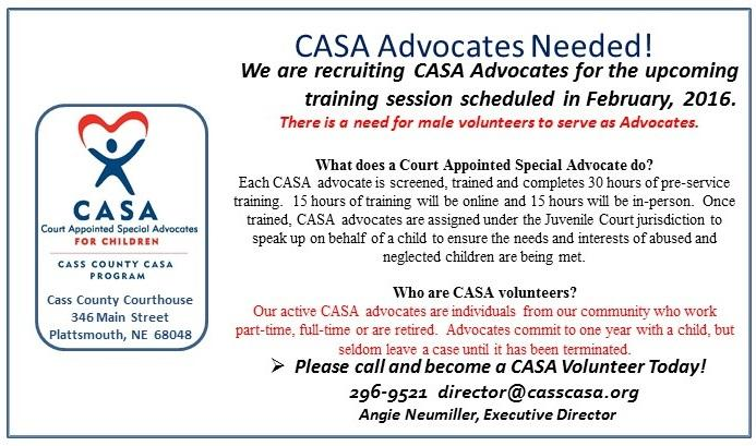 CASA training for Feb 2016 Flyer
