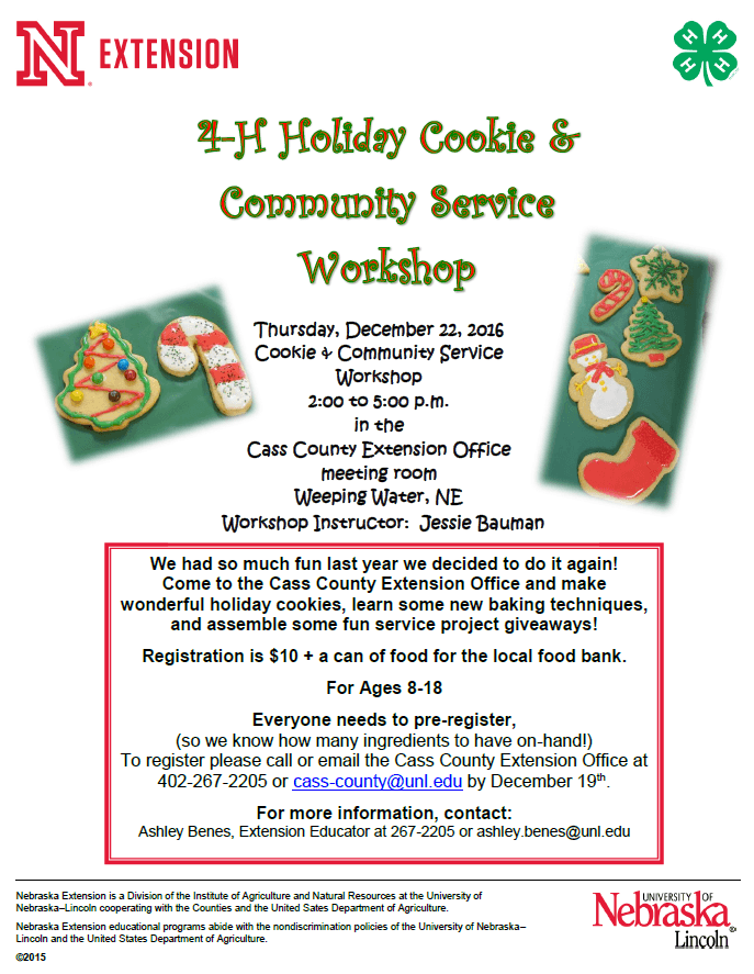Cookie workshop