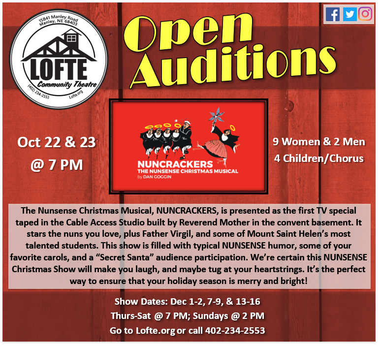 Auditions Nuncrackers