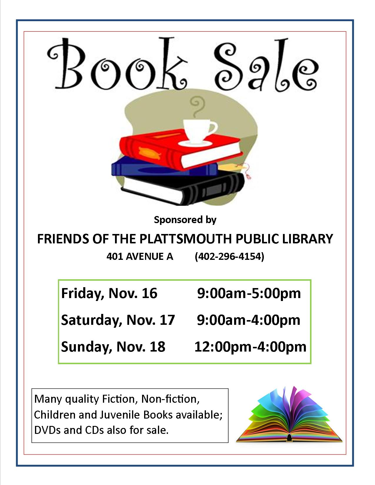 Book Sale Nov2018