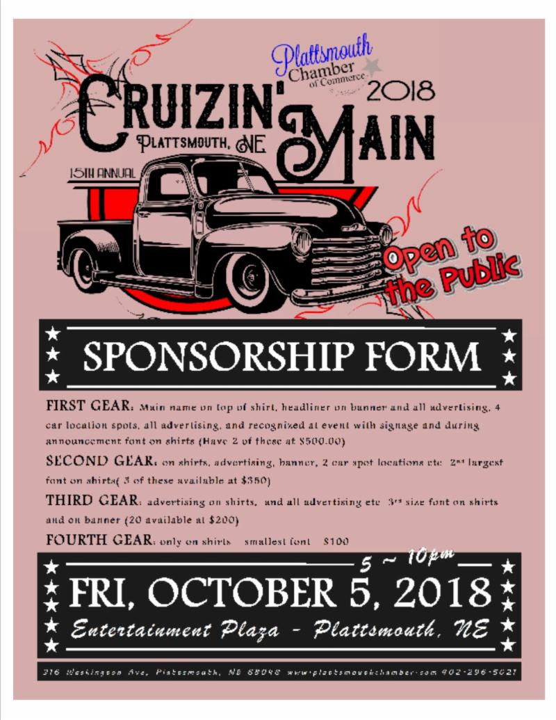 cruizinmainsponsorship2018