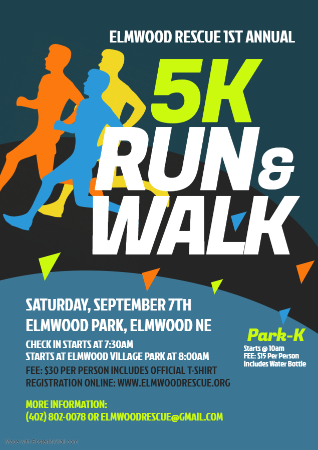 Copy of 5K Run Walk Flyer Template Made with PosterMyWall