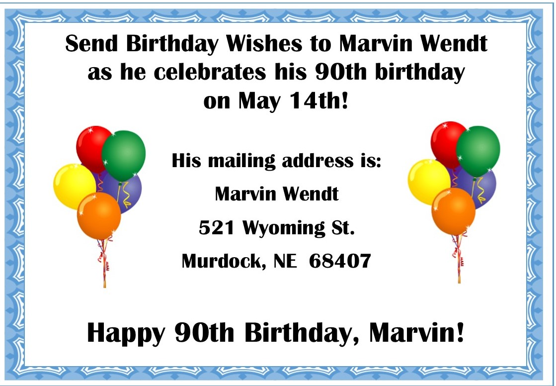 Marvin birthday
