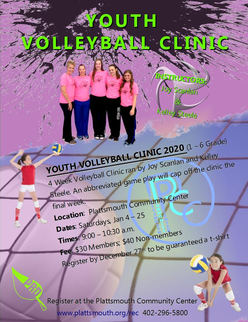PCC youth volleyball