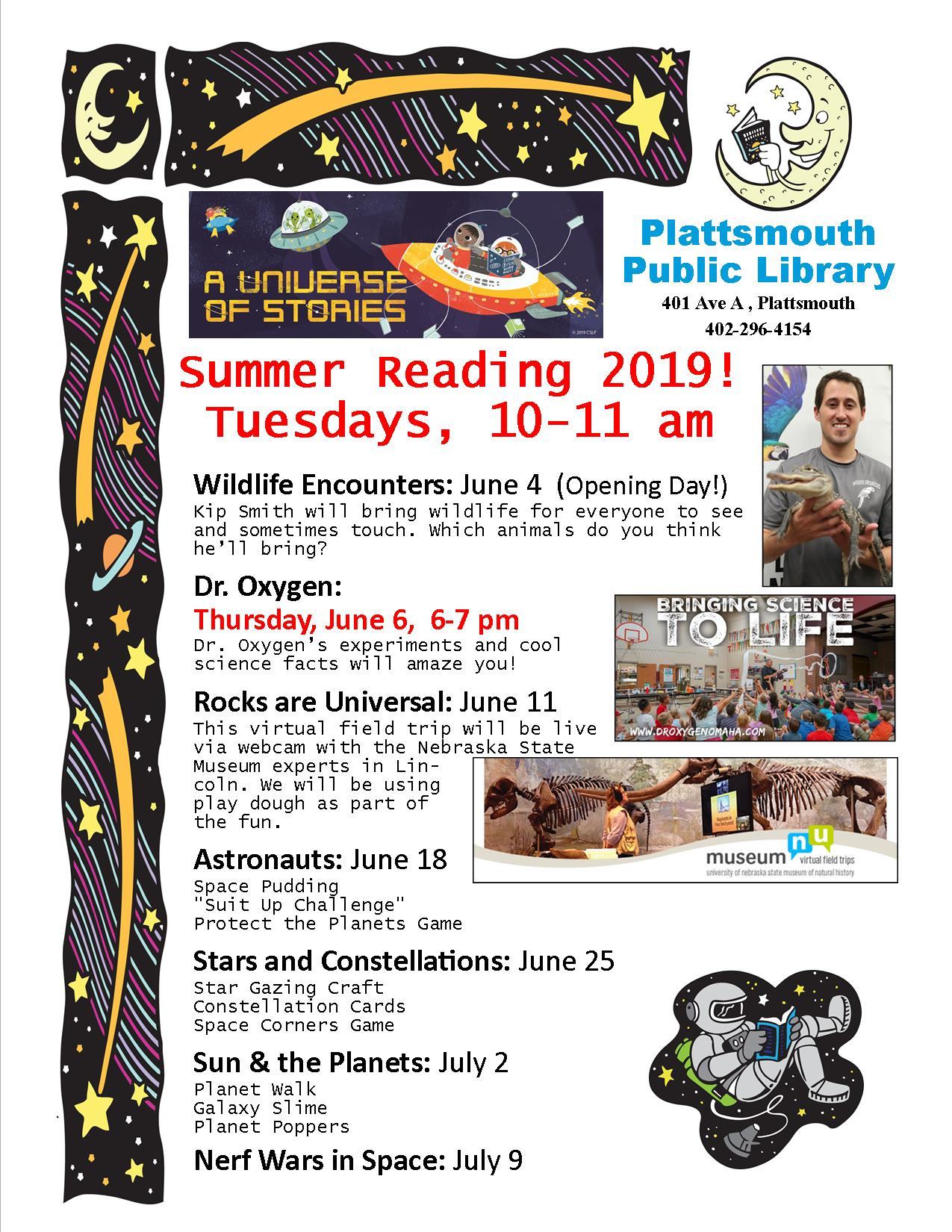 SRP Poster Weekly 2019