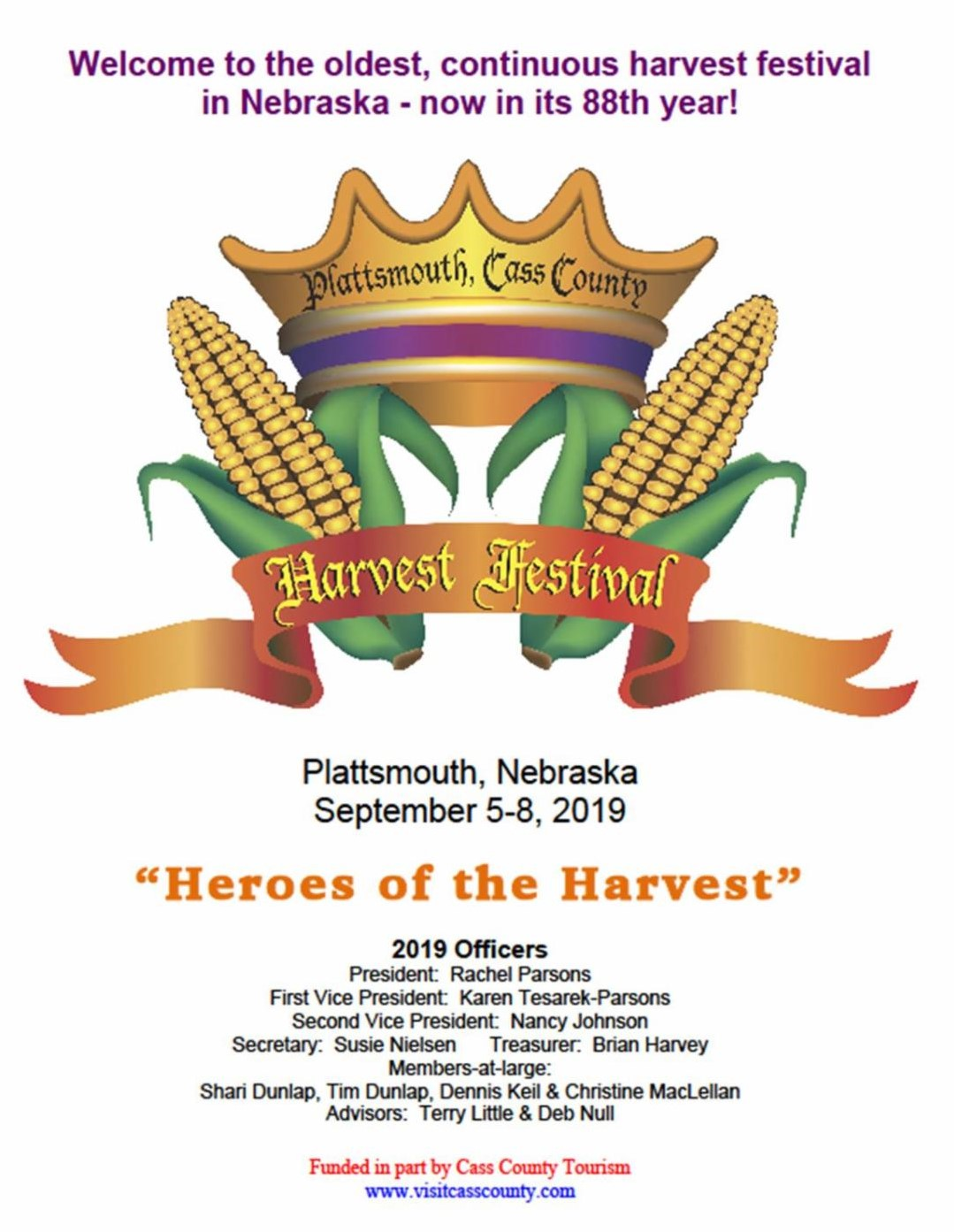 front page harvest festival2019