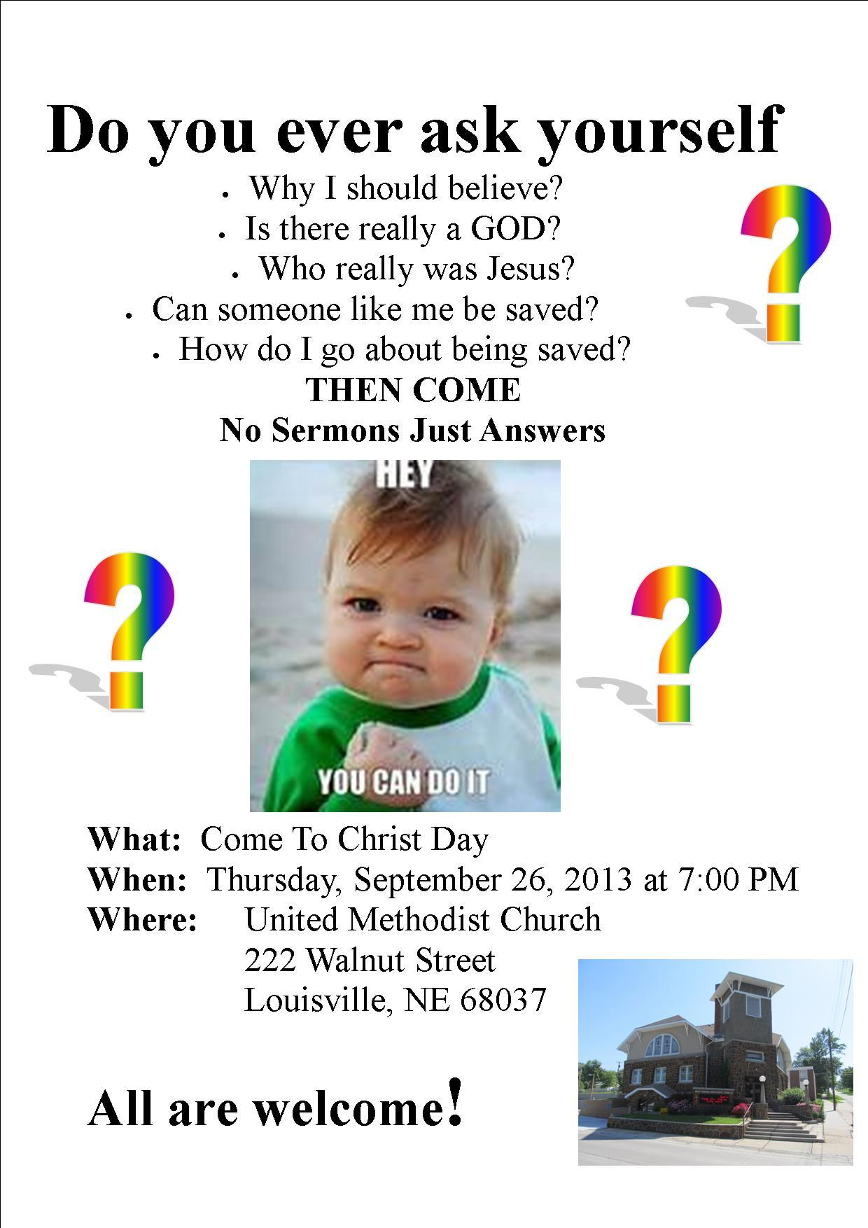 9-4Come To Christ Day-website