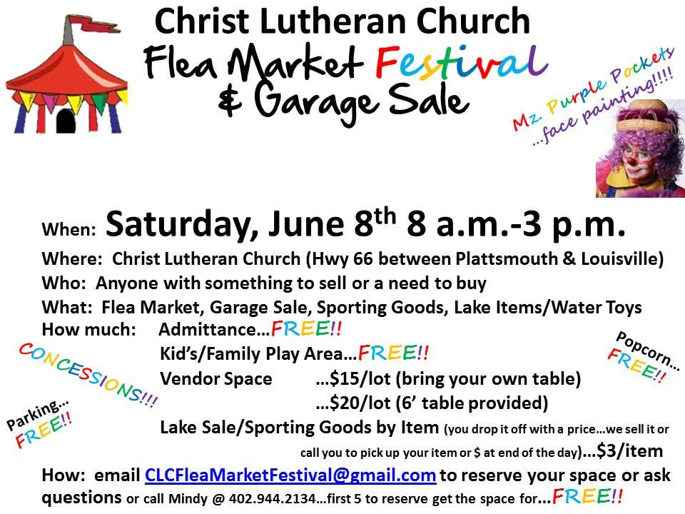 Christ Lutheran_Church_Flea_Market_Festival