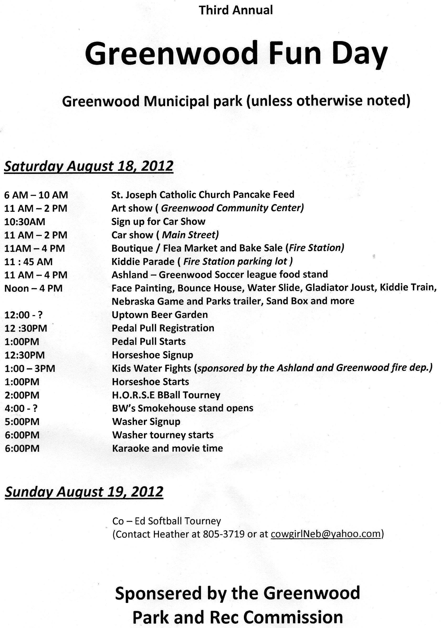 greenwood fun_day